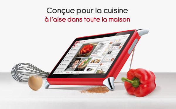 Tablet para cocinas