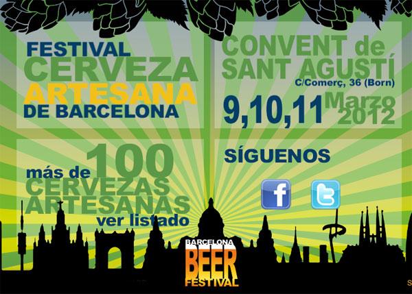 Festival de la Cerveza Artesana en Barcelona