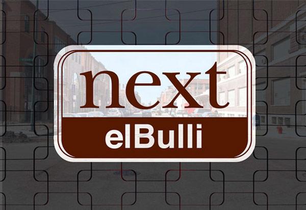 Menú de elBulli en el Next Restaurant de Grant Achatz