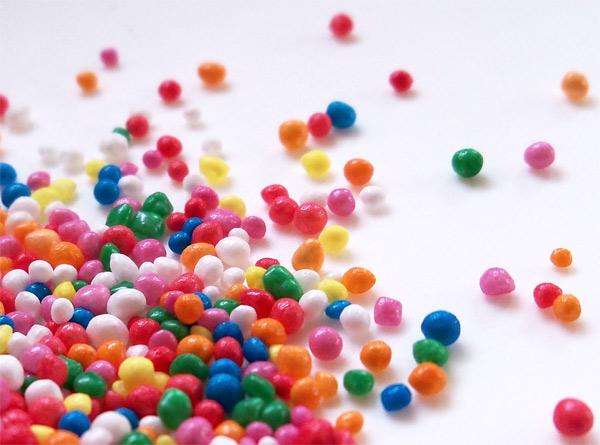 Bolitas de azúcar