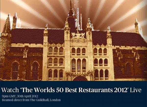 Lista de los 100 Mejores Restaurantes del Mundo 2012