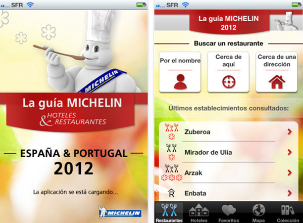 Guía Michelin digital