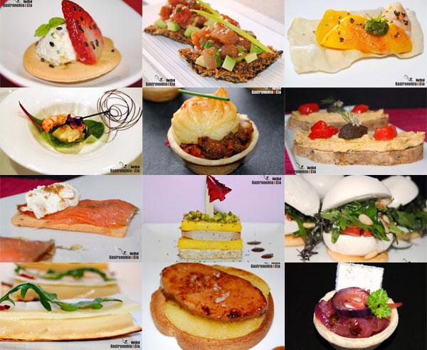Doce recetas de canap s gastronom a c a for Canape bases ideas