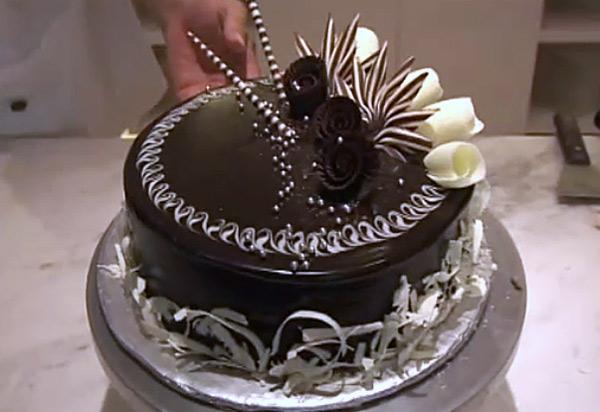 T cnicas de chocolate de grand place gastronom a c a - Decoracion con chocolate ...
