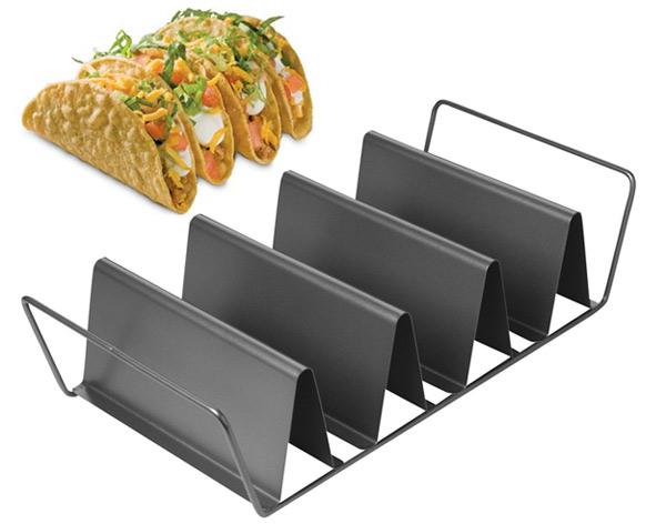 Soporte para hornear tacos mexicanos