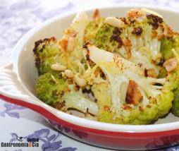 Brócoli asado al horno
