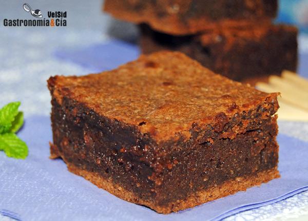 Brownie praliné