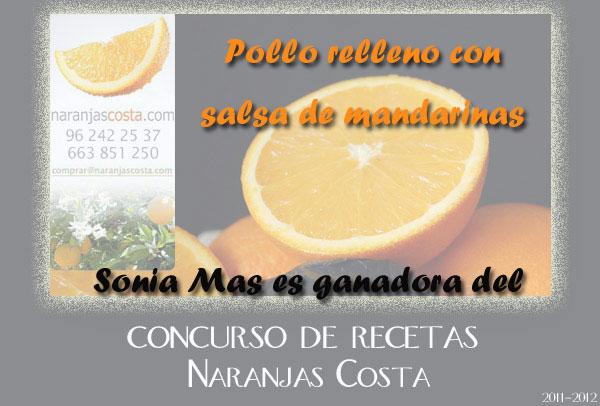 Receta ganadora del Concurso Naranjas Costa