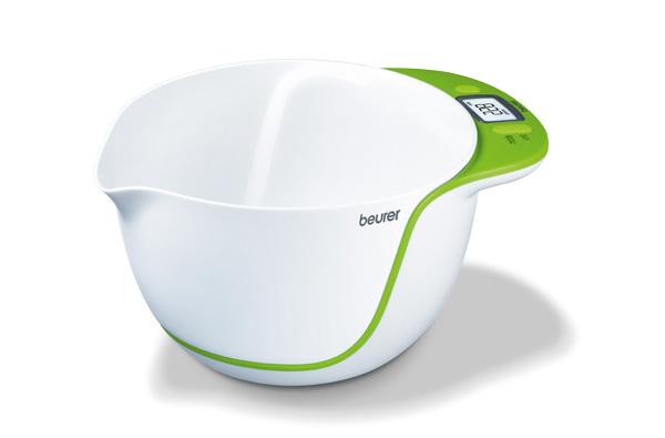 B scula de cocina con bol extra ble gastronom a c a for Basculas digitales para cocina