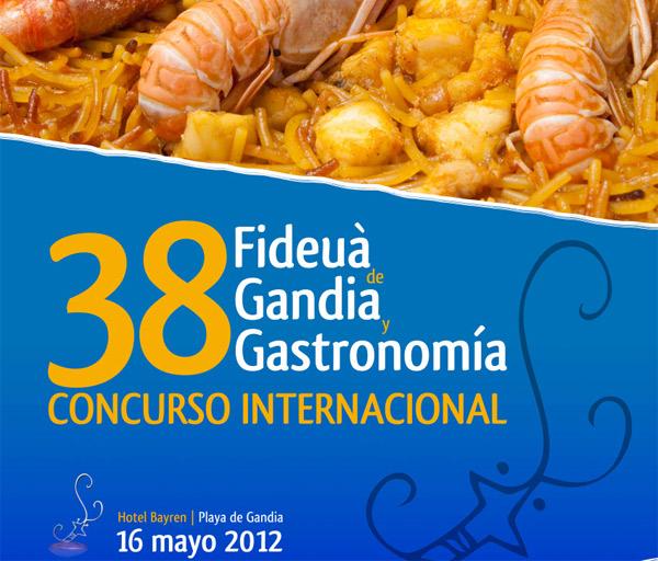 38 edición Concurso Internacional Fideuà de Gandía y Gastronomía
