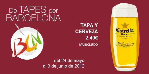 V De Tapes per Barcelona