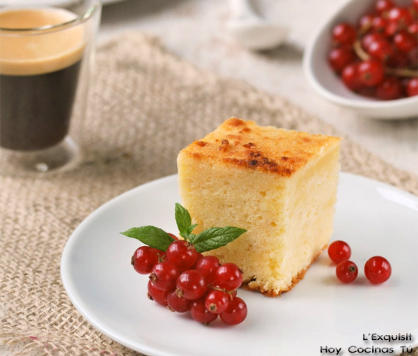 Bizcocho de queso parmesano