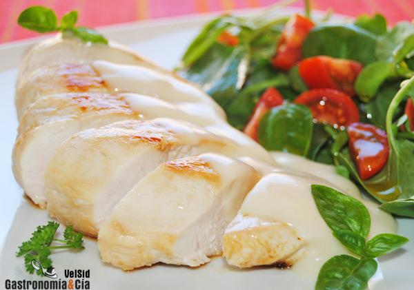 Pollo con salsa suprema gastronom a c a - Platos de pollo faciles ...