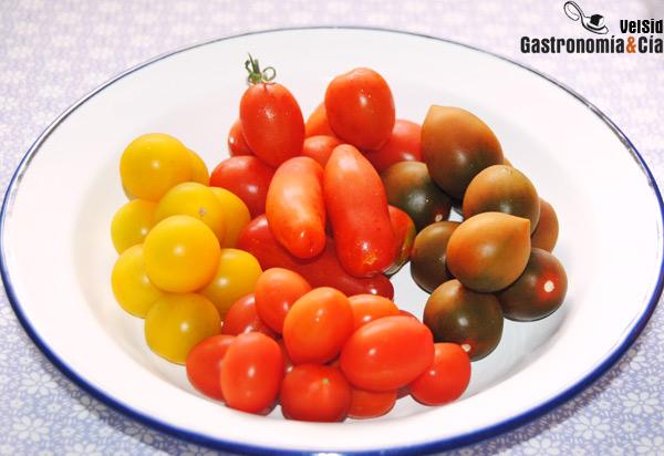 Doce nuevas recetas con tomates cherry o c ctel for Coctel con zumo de tomate