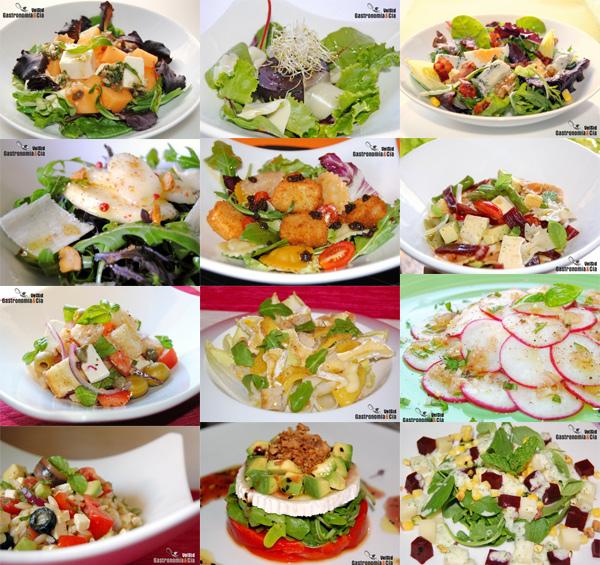 Ingredientes ensaladas