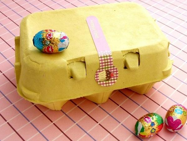 Envases de cartón para huevos