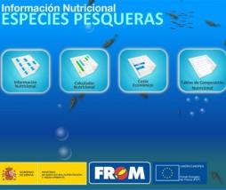 Información nutricional de pescados y mariscos