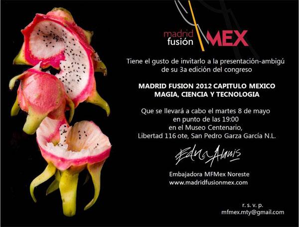 Programa Madrid Fusión México