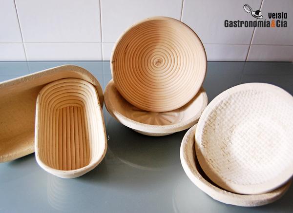 Banneton, cesta de fermentación de pan