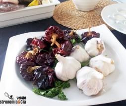 Salsa de ñora, ajo y tomate para guisos alicantinos