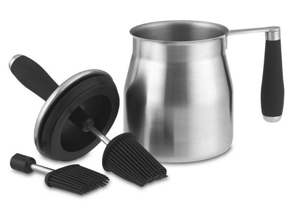 Basting Sauce Pot & Brush