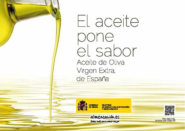 El aceite pone el sabor