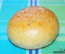 Receta de pan hamburguesa