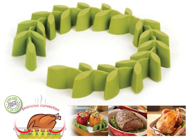 Soporte de silicona para asar gastronom a c a - Utensilios de cocina de silicona ...