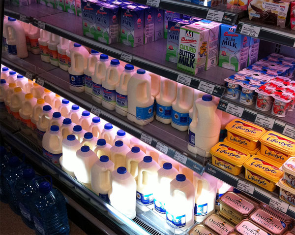 Alargar la duración de la leche