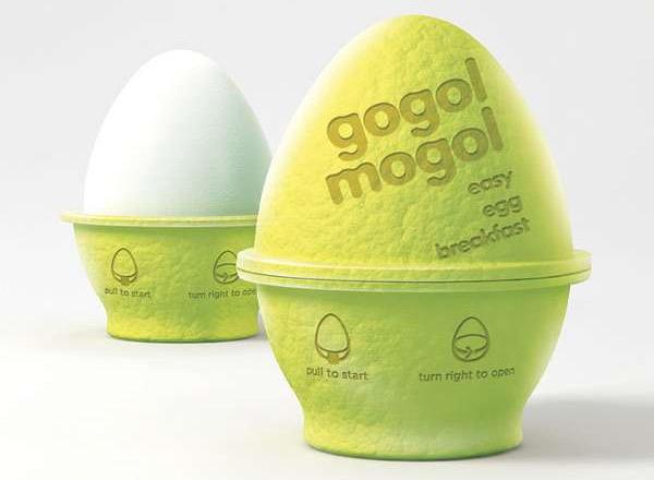 envase inteligente que cuece huevos