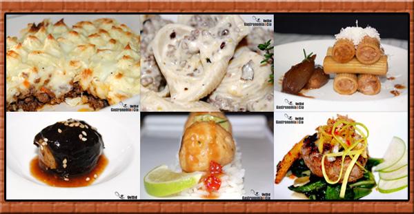 Carne de ternera, cerdo, pollo, pavo, cordero...