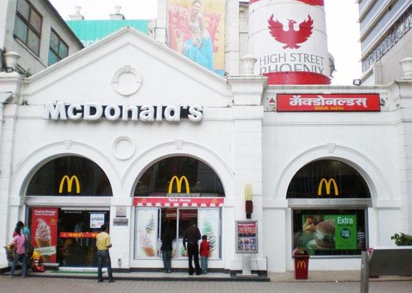 Restaurantes McDonald's vegetarianos