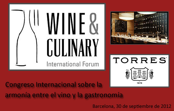 Wine & Culinary International Forum 2012