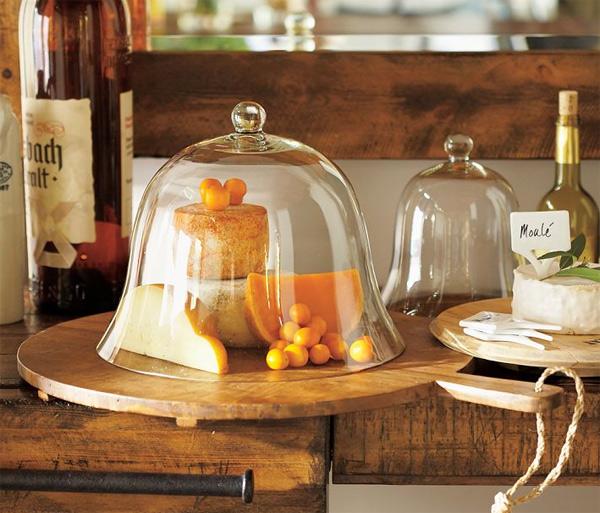Campana de vidrio soplado gastronom a c a - Campana de cristal ikea ...