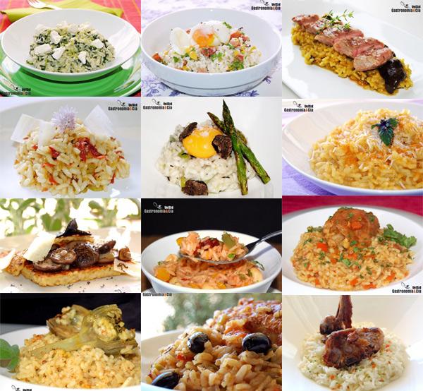 doce recetas de arroz gastronom a c a