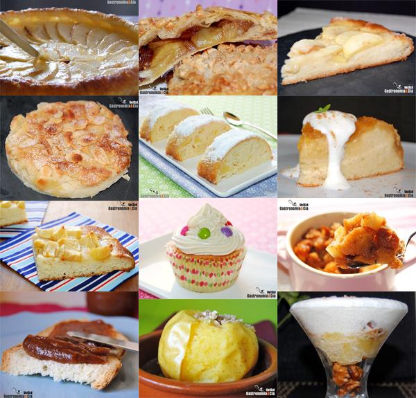 Tartas, bizcochos, magdalenas, cremas...
