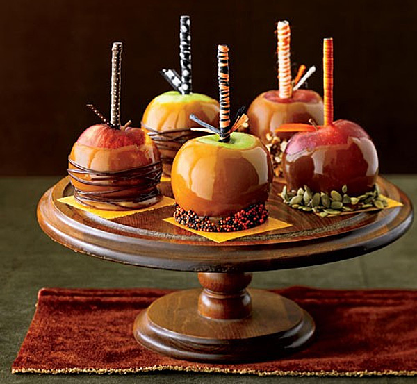 dulces con manzana