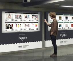 Supermercados virtuales en el metro