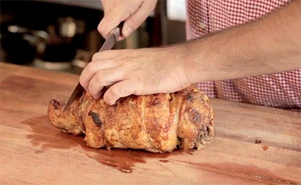 Como Hacer un Pavo Relleno de Carne Cómo Hacer un Rollo de Pavo