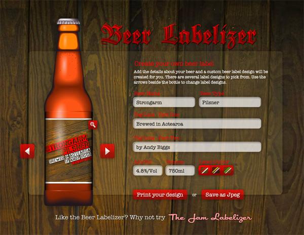 Beer Labelizer