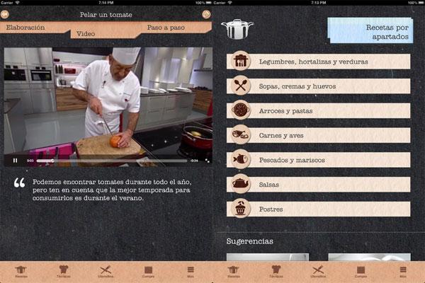 Atr vete a cocinar con karlos argui ano en iphone - Atrevete a cocinar ...