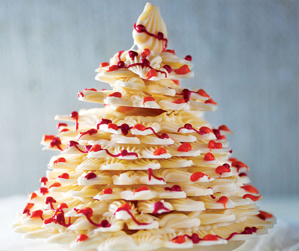 Cmo hacer un rbol de Navidad de chocolate original Gastronoma Ca