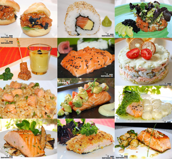Recetas con salmón