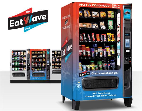 Eatwave m quina expendedora de bocadillos calientes y bebidas fr as gastronom a c a - Maquinas expendedoras de alimentos y bebidas ...