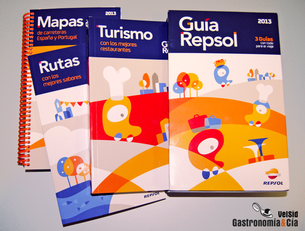 Guia Repsol 2013 De Espana Y Portugal Gastronomia Cia