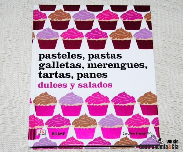 Libro de recetas de repostería y pastelería