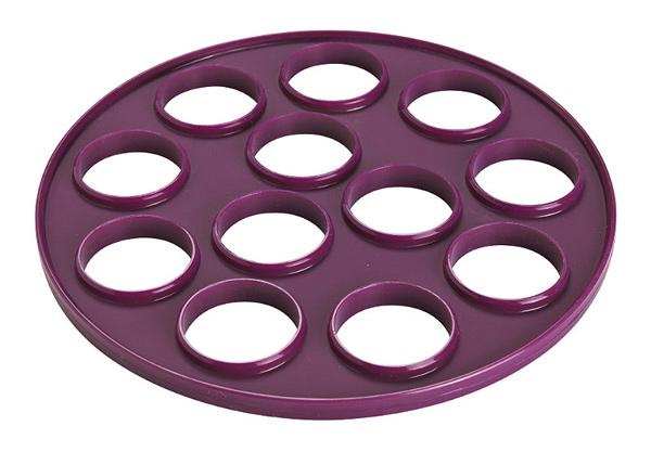 Molde de silicona para blinis - Moldes de silicona para horno ...
