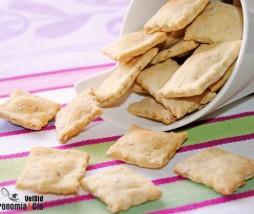 Crackers con aceite de oliva virgen extra