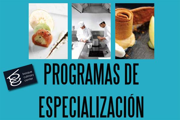 Curso de t cnicas culinarias de vanguardia en el basque for Tecnicas de vanguardia gastronomia