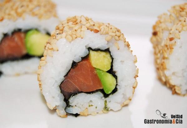 Recetas de sushi para una comida japonesa gastronom a c a for Tipos de comida francesa